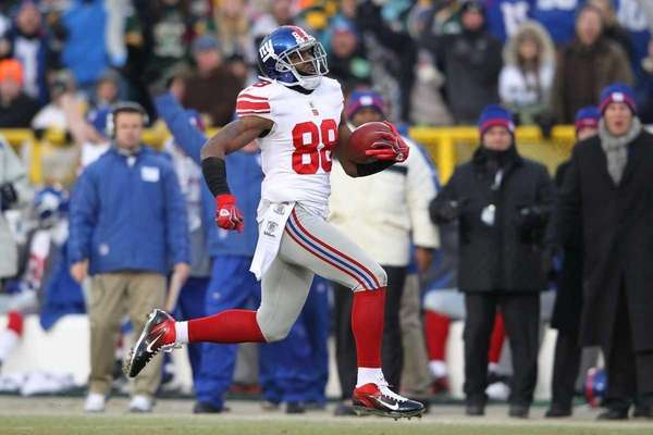 Hakeem Nicks #88 of the New York Giants