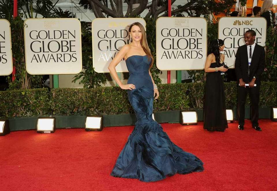 Sofia Vergara arrives at the 69th Annual Golden