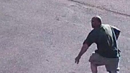 Suffolk County police say a man broke into