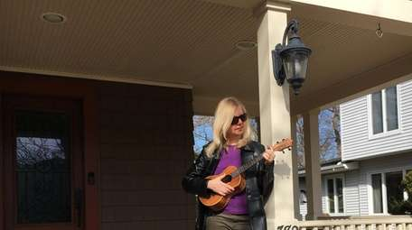 Iyna Caruso plans to play the ukulele with