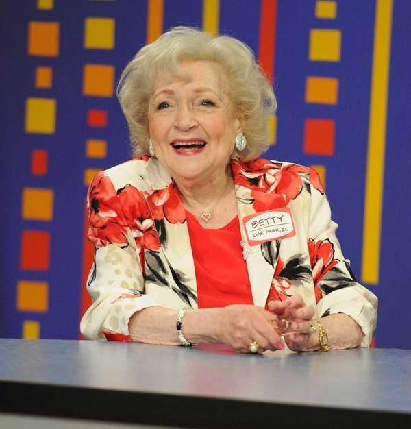 On Jan. 17, 2012 actress Betty White will