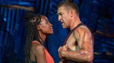 "Nneka Okafor and Jonathan Cake star in ""Coriolanus"""