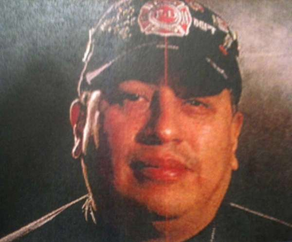 This undated family file photo shows Mexican Firefighter
