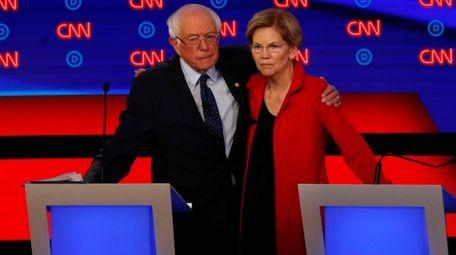 Sen. Bernie Sanders (I-Vt.), and Sen. Elizabeth Warren
