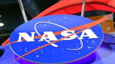 The NASA logo is displayed at the agency's