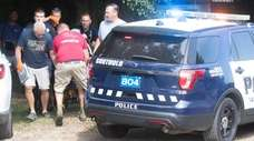 Authorities respond to the drowning of a woman
