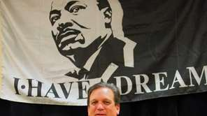 Nassau County Executive Edward Mangano speaks during the