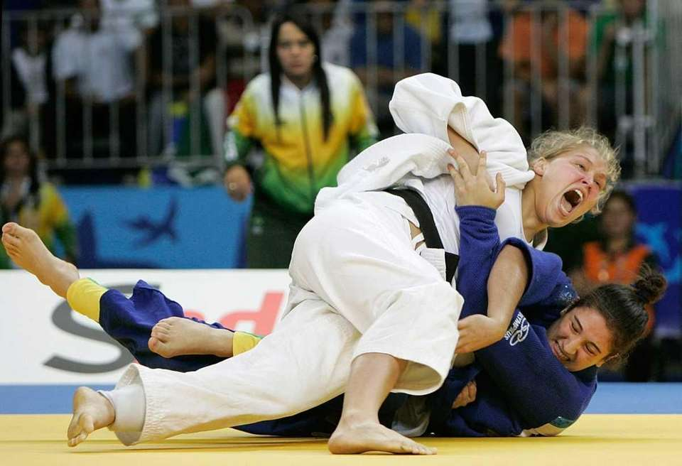 Rousey finished ninth in the 2004 Olympic Games