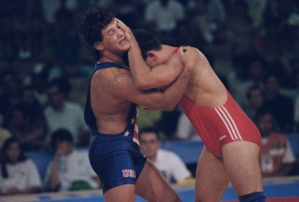 Henderson was a Greco-Roman wrestler for Team USA
