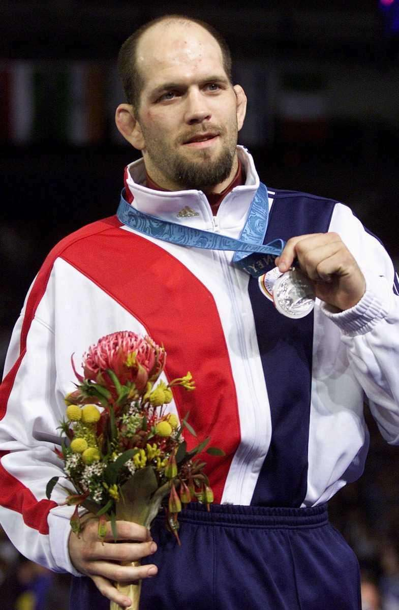 Lindland represented the United States in Greco-Roman Wrestling