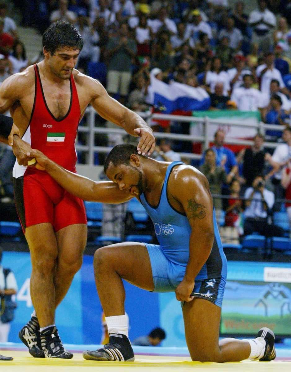 Cormier was a freestyle heavyweight wrestler for Team