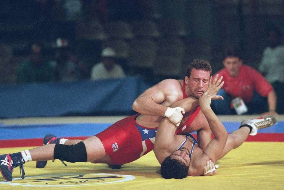 MARK COLEMAN Olympics Coleman competed for Team USA