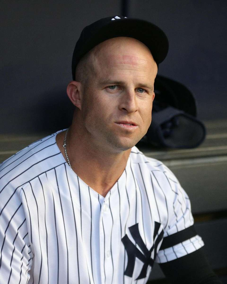 New York Yankees center fielder Brett Gardner (11)
