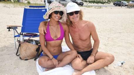 Liz Karmooch and Gabriel Vigorelli, both of Mexico,