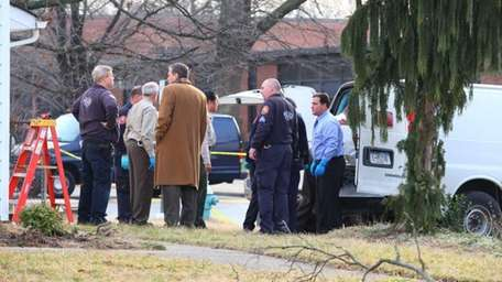 By midmorning Tuesday, Nassau County police were still