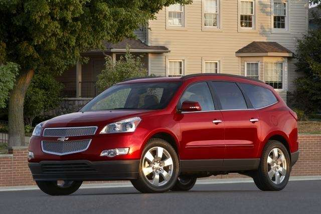 2012 Chevrolet Traverse Assembled: Lansing, Michigan.