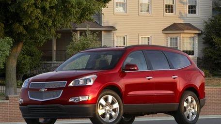 2012 Chevrolet Traverse Assembled: Lansing, Michigan.