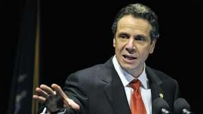 Gov. Andrew M. Cuomo gives his budget address