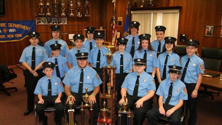 The Lynbrook Junior Fire Department beat a dozen