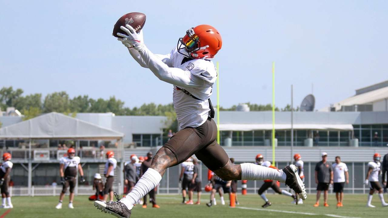 Glauber: OBJ delighted to be on up-and-coming Browns