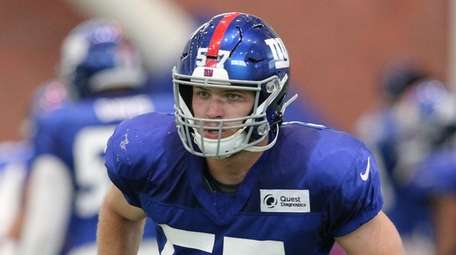 Linebacker Ryan Connelly, out of Wisconsin, has impressed