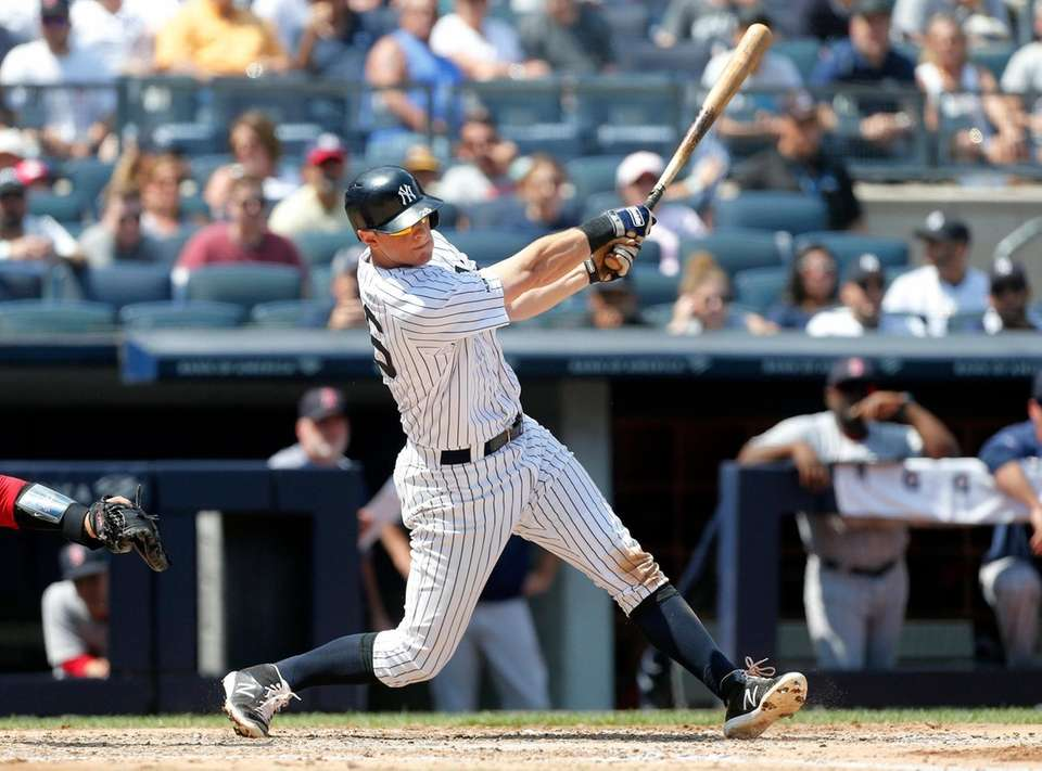 DJ LeMahieu #26 of the New York Yankees
