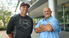 Patchogue Medford High School baseball coach Anthony Frascogna,