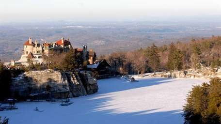 The Mohonk Mountain House in upstate New Paltz