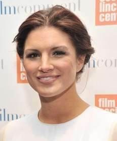 Actress Gina Carano attends the Film Comment Selects