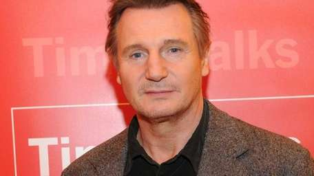 Actor Liam Neeson attends the New York Times