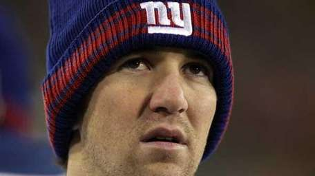 Eli Manning #10 of the New York Giants.