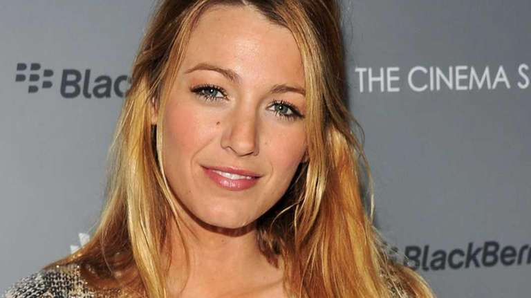 Actress Blake Lively attends the Cinema Society &