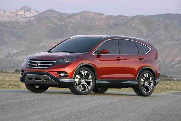 The 2012 Honda CR-V has an EPA fuel