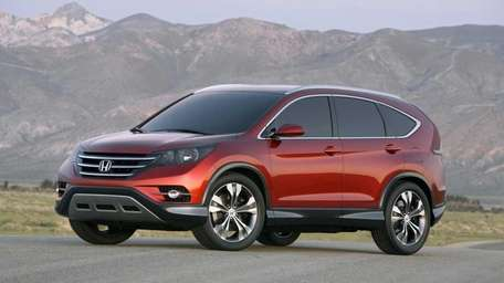 The 2012 Honda CR-V has an EPA fuel