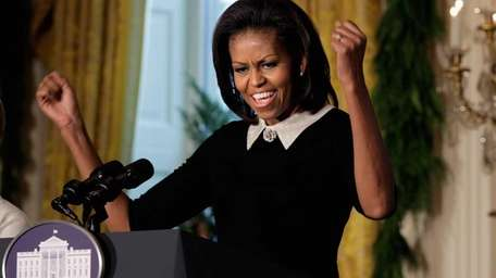First lady Michelle Obama, seen in 2011, is