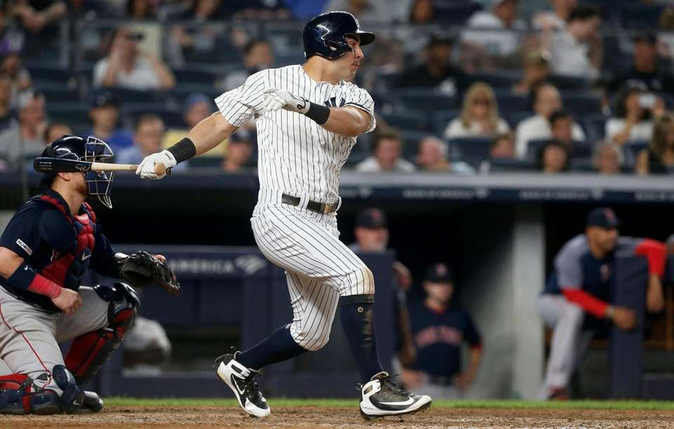 Mike Tauchman #39 of the New York Yankees