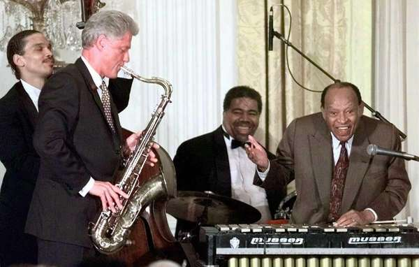 In this July 23, 1998 file photo, jazz