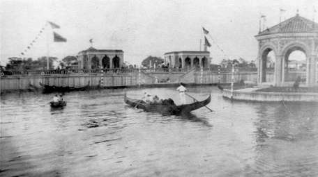 A circa 1929 photo of American Venice in