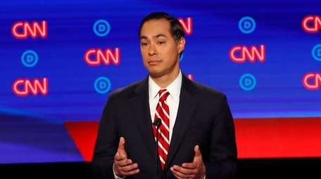 Former Housing the Urban Development Secretary Julian Castro