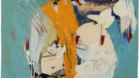 Summer Picture (1959) by Helen Frankenthaler is an