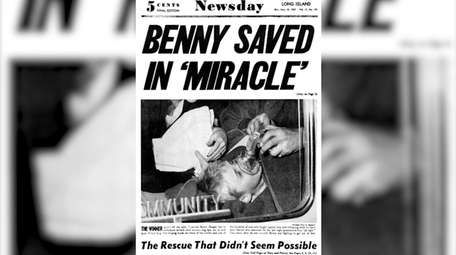 The May 1957 rescue of Benny Hooper Jr.,