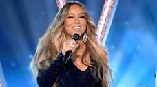Mariah Carey performs onstage during the 2019 Billboard
