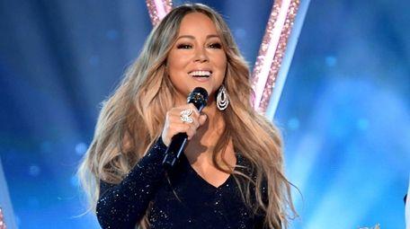 Mariah Carey performs onstage during the 2019 Billboard