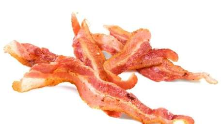 In the dim, faraway days of youth, bacon