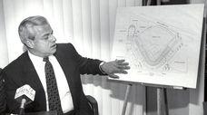 Nassau County Executive Thomas Gulotta in Mineola in