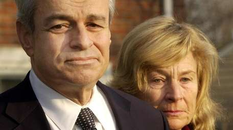 Thomas Gulotta, former Nassau County Executive, with wife