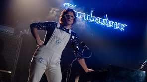 Taron Egerton as Elton John in Rocketman from