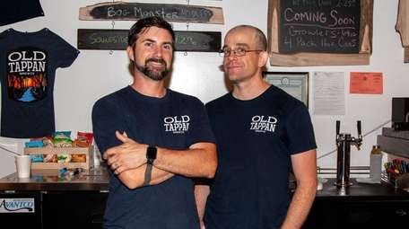 Brent Kunkle, left, and Matthew Cryan have opened
