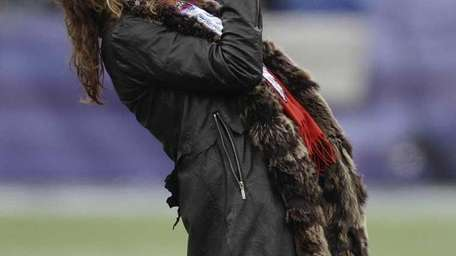 Steven Tyler, who performed the National Anthem before
