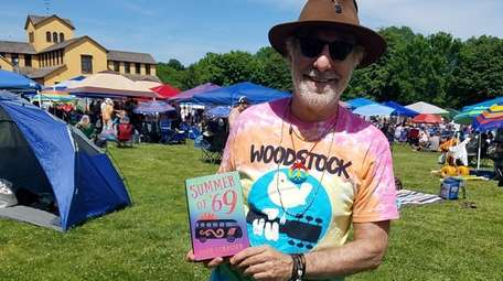Todd Strasser, of Montauk, went to the Woodstock